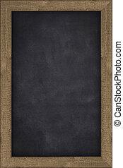 black chalkboard  empty