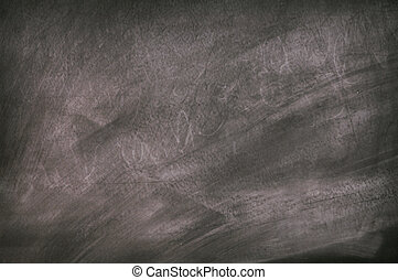 Black chalkboard surface - Black slate chalkboard surface