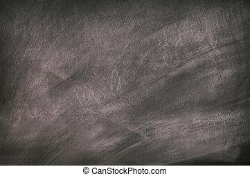 Black chalkboard surface - Black slate chalkboard surface
