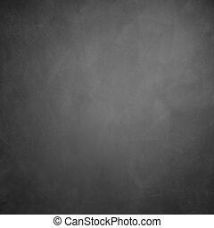 black , chalkboard, textuur, achtergrond, met, de ruimte van...