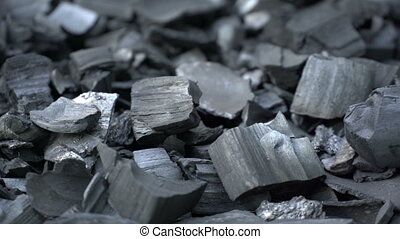 Black charcoal texture background - Black charcoal rotation...