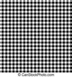 Black checkered background