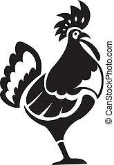 Black chiken
