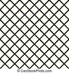 Black chrome Steel Grating seamless structure vector.