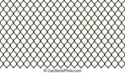 Black chrome Steel Grating structure background.