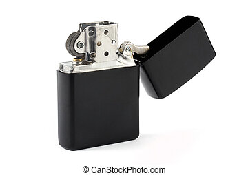 Black cigarette lighter