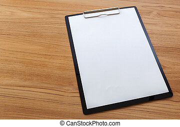 Black clipboard