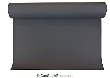 Black color poster paper