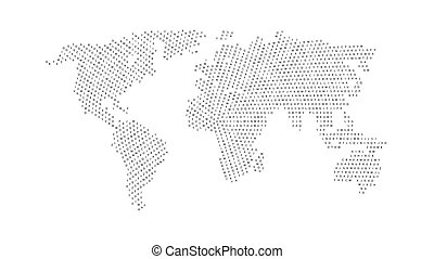World map isolated on white background vector vector search clip black color world map isolated on white background gumiabroncs Choice Image