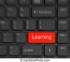 e-Learning Concept.