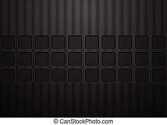 Black concept tech abstract background
