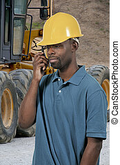 Black Construction Worker