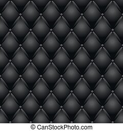 black couch texture vector illustration