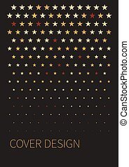 Black cover for brochure