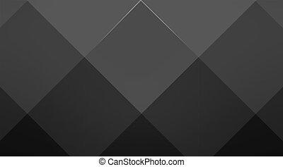 Black cubic background