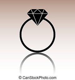 Black Diamond icon.