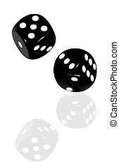 Black Dice Reflected
