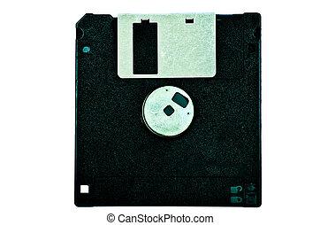 Black diskette