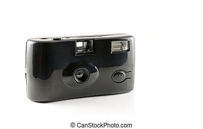 Black disposable camera film