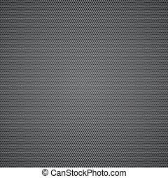 Black dotted metal sheet