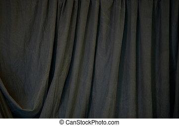 Black Draped Background