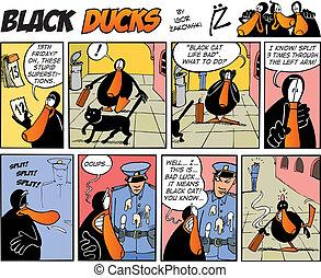 Black Ducks Comics episode 38 - Black Ducks Comic Strip...