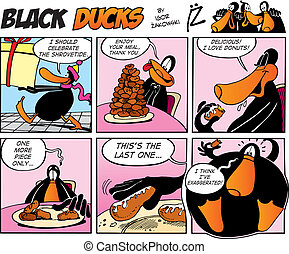 Black Ducks Comics episode 40 - Black Ducks Comic Strip ...