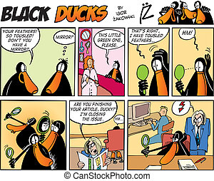 Black Ducks Comics episode 57 - Black Ducks Comic Strip ...