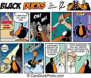 Black Ducks Comics episode 63 - Black Ducks Comic Strip...