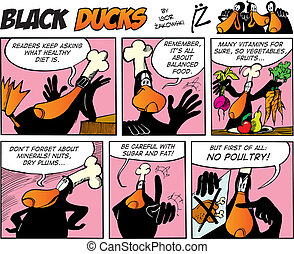 Black Ducks Comics episode 66 - Black Ducks Comic Strip...