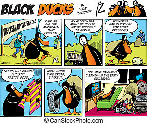 Black Ducks Comics episode 72
