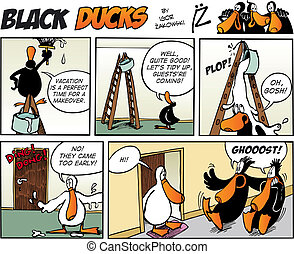Black Ducks Comics episode 73 - Black Ducks Comic Story...