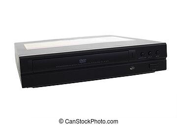 Black DVD CD Player
