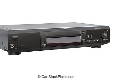 Black DVD Player