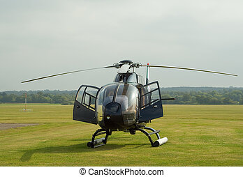 "Black EC-120 helicopter - Black EC-120 \""Colibri\\\""..."