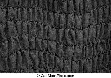 Black Elegant Fabric Background Or Texture