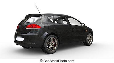 Black Family Car 1