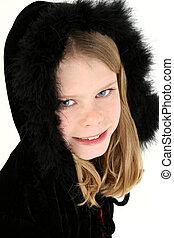 Black Feather Hood