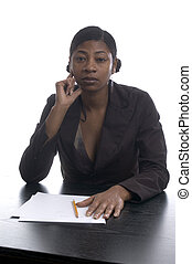 black female executive