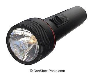 Flashlight - Black Flashlight, ON