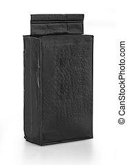 black foil bag pack