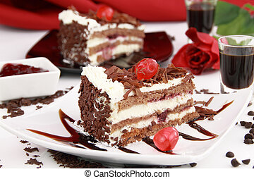 Black forest cake - Black Forest, a traditional German cake ...