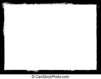 black , frame