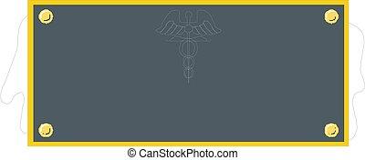 Black Frame on White Background Vector illustration