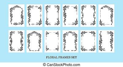 Black frames set