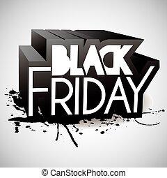 Black friday background - Black friday ink background full...