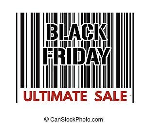 Black Friday barcode