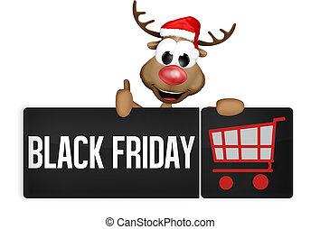 Black Friday Black Button