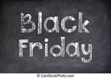 Black Friday board