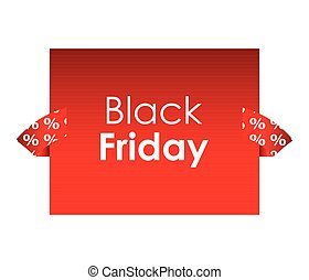 Black Friday business banner design template